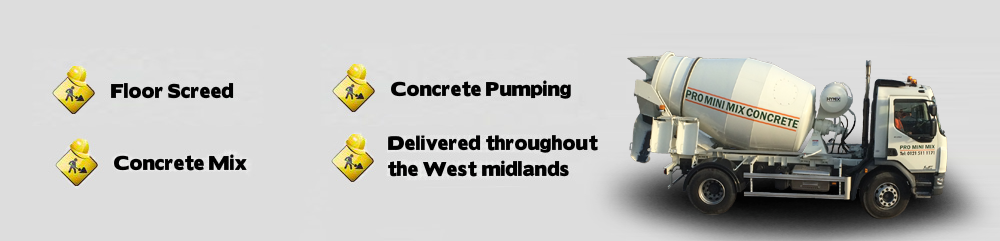 Concrete & Concrete Products West Midlands